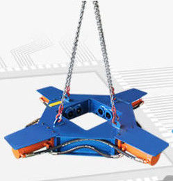Concrete Pile Head Cutter Excavator Attachment Reliable Strength Alloy Material